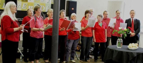 The Bread and Roses choir